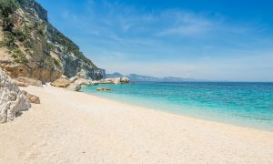 a picture of cala mariolu near baunei sardinia