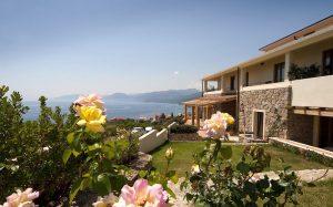 a picture of hotel villa gustui maris in cala gonone