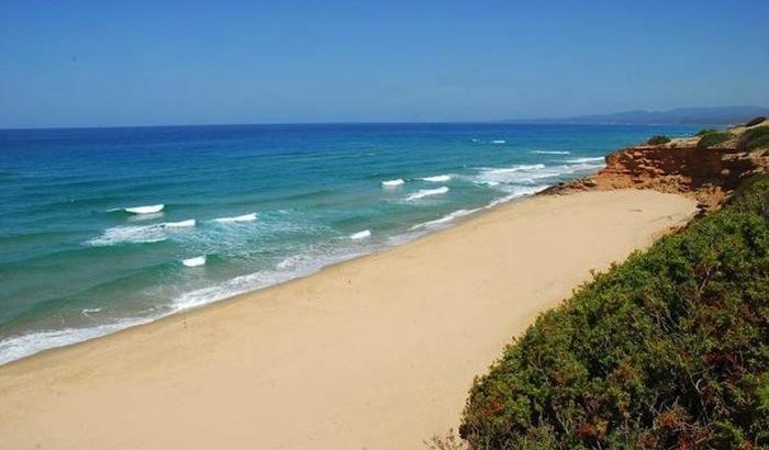 Scivu beach, Bau, Medio-Campidano