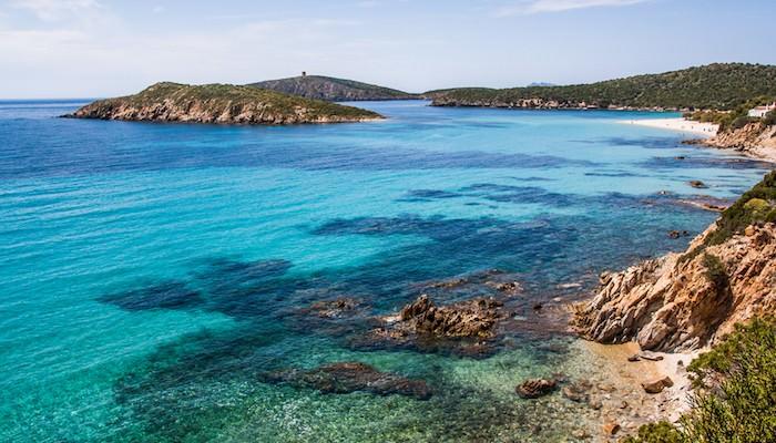 Tuerredda Beach Sardinian Beaches