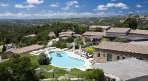 The marvelous Petra Segreta Resort & Spa in San Pantaleo.