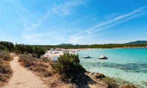 a picture of spiaggia di cala sabina in golfo aranci north-east sardinia