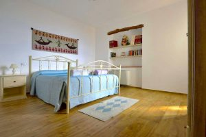 a picture of a room at the Villa Janas apartments in Baunei, east Sardinia, Italy.
