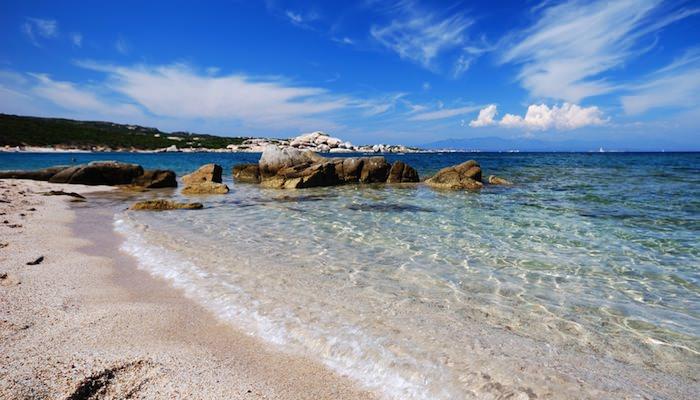 a picture of la licciola beach