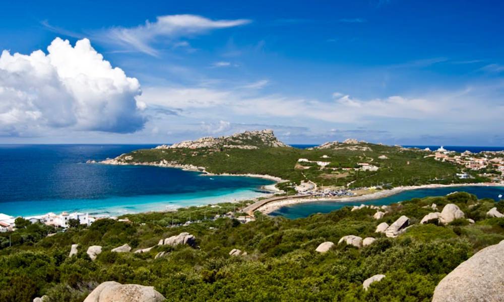 a picture of spiaggia rena di ponente near capo testa in sardinia
