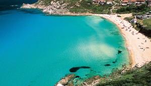 a picture of spiaggia porto quadro sardinia
