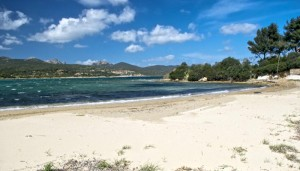 a picture of rudargia beach on sardinia