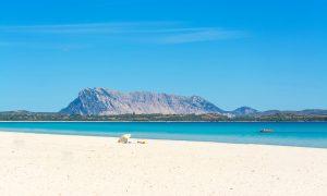 a picture of spiaggia de la cinta near san teodoro in north-east sardinia.