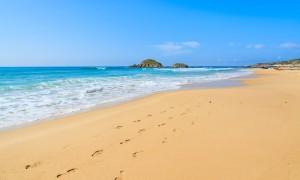 a picture of chia beach near domus de maria in cagliari sardinia