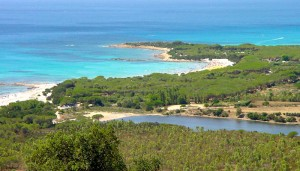 a picture of cala ginepro beach