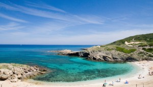 a picture of porto palmas beach