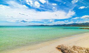 a picture of spiaggia di puntaldia near san teodoro in north-east sardinia