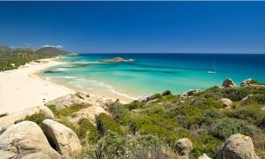 a picture of spiaggia di campana dune in chia south sardinia