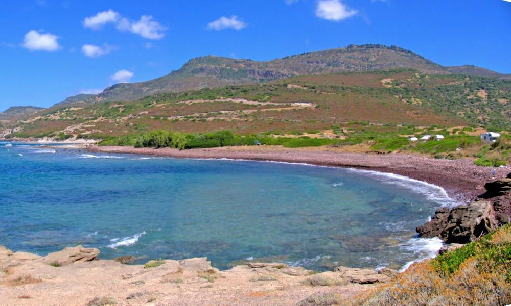 a picture of La Spiaggia S'Abba Druche di Bosa in oristano west sardinia