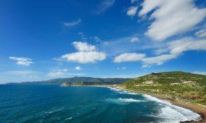 a picture of spiaggia di turas in oristano west sardinia