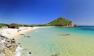 a picture of spiaggia di cala monte turno near costa rei in south-east sardinia