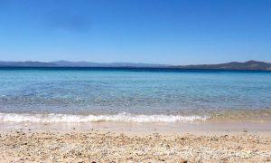 a picture of spiaggia dei baracconi in golfo aranci north-east sardinia