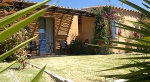 a picture of the S'Acqua Sassa Resort near Teulada south sardinia