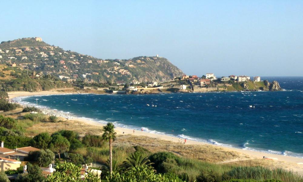 a picture of Spiaggia di Kal'e Moru in the province of Cagliari in south Sardinia Italy.