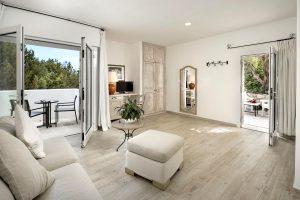 a picture of a room at the Hotel Grand Relais Dei Nuraghi in Baja Sardinia, Costa Smeralda, north-east Sardinia, Italy.