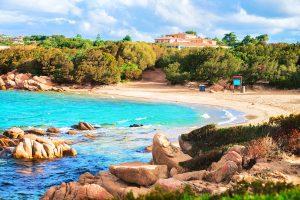 a picture of Spiaggia di Portisco in Costa Smeralda, north-east Sardinia, Italy.