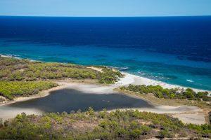 Spiaggia di Bidderos near Orosei in east Sardinia, Italy.